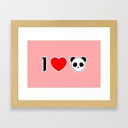 I Heart Seungri Framed Art Print