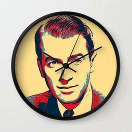 James Stewart Poster Art Wall Clock