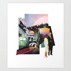 come alive Art Print