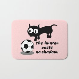 Cat Football Bath Mat