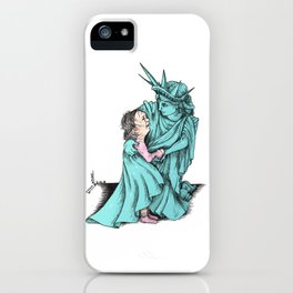 We Really Do care iPhone Case