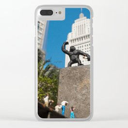 King Kong em São Paulo Clear iPhone Case