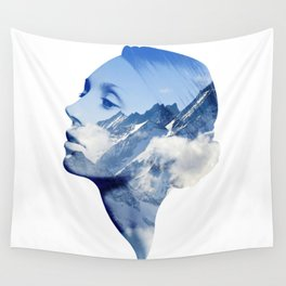 Mountain Tops Wall Tapestry