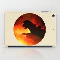 godzilla iPad Cases featuring godzilla by avoid peril