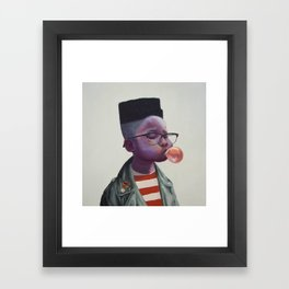 What's the next song? Framed Art Print