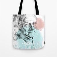 queens of the stone age Tote Bags featuring Age by Strange Design