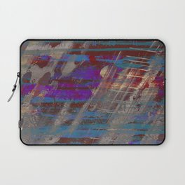 Depth - Abstract, Textured Oil Painting Laptop Sleeve