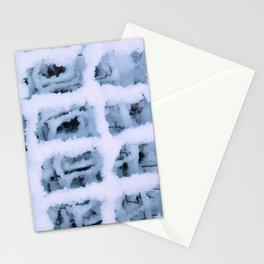Snow Pattern Stationery Cards
