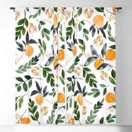 Orange Grove Blackout Curtain