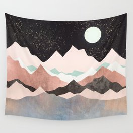Midnight Stars Wall Tapestry