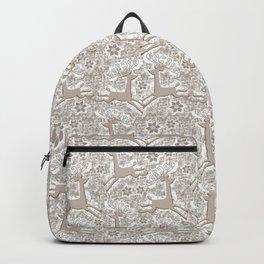 OH deer - tonal Backpack