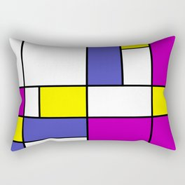 Neoplasticism Rectangular Pillow