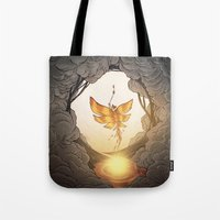 final fantasy Tote Bags featuring final fantasy by Isabel Seliger