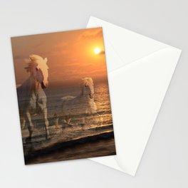 Sea Horses, Soul Mates, Running Horses, Spirits of the Sea Stationery Cards