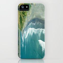 Raglan beach, New Zealand iPhone Case