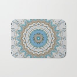 Dreamcatcher Teal Bath Mat
