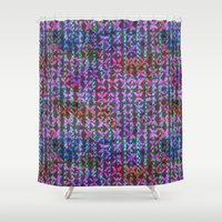 amelie Shower Curtains featuring Amelie #3b by Schatzi Brown