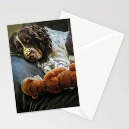 Flame and Her Friend Stationery Cards