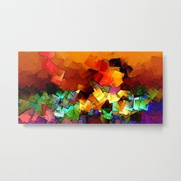 towel full of colors -6- Metal Print