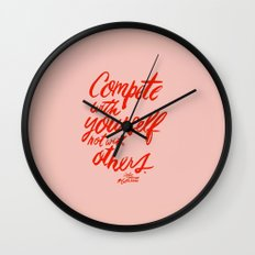 Compete Wall Clock