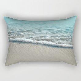 turquoise nature Rectangular Pillow