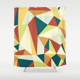 Lebanese Geometric Shower Curtain