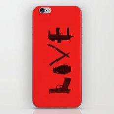 LOVE - Bloody Valentine iPhone Skin