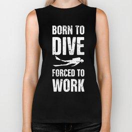 Born to Dive | Scuba Diving Biker Tank