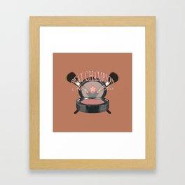 Beat Champ Framed Art Print