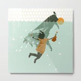 WATER DREAM Metal Print