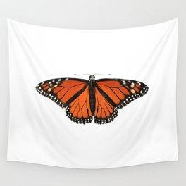 Monarch (Danaus plexippus) Wall Tapestry