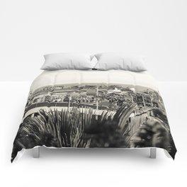 Santa Monica Pier Comforters