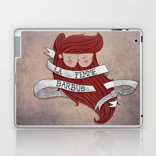 Bearded woman Laptop & iPad Skin