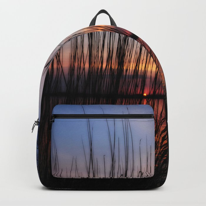 sunset nature Backpack