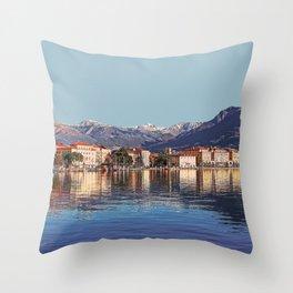 Geneva, Switzerland Travel Artwork Throw Pillow