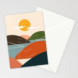Cat Landscape 104 Stationery Cards