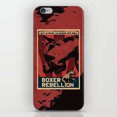 Boxer Rebellion  iPhone & iPod Skin