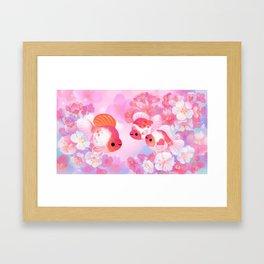 Sakura Ryukin Framed Art Print