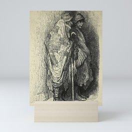 Gustave Doré - Spain (1874): Beggars in Iscala, near Salamanca Mini Art Print