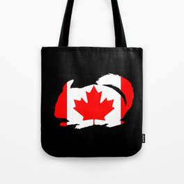 Canada Chinchilla Tote Bag