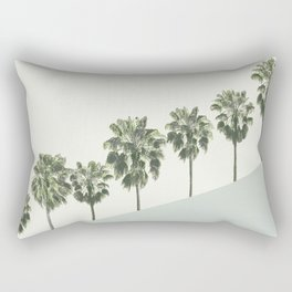 Palm Trees 4 Rectangular Pillow