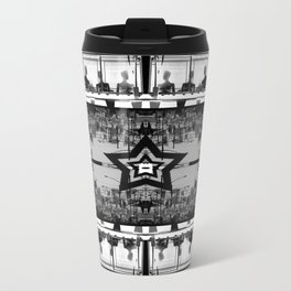 Masking The Inhuman Populace Travel Mug