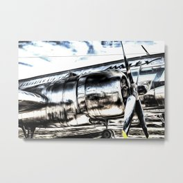 The Art Of Aviation Metal Print
