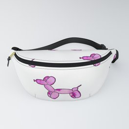 Pink Watercolor Balloon Dogs! Fanny Pack