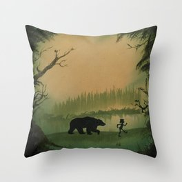 The Jungle Book by Rudyard Kipling Throw Pillow
