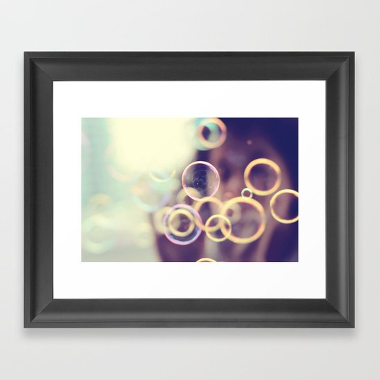 Pop 'em Framed Art Print