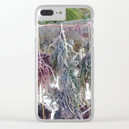 Drying Seaweed Clear iPhone Case