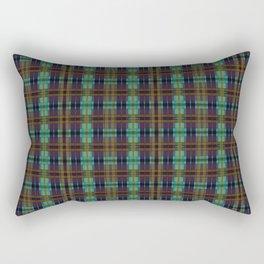 Colorful Plaid Rectangular Pillow