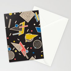 Memphis Inspired Design 8 Stationery Cards