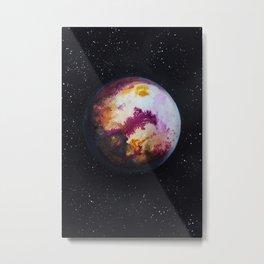 PLANET A. Metal Print